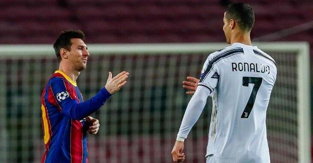 Ronaldo'nun Juventus'u, Messi'nin Barcelona'sını yendi.