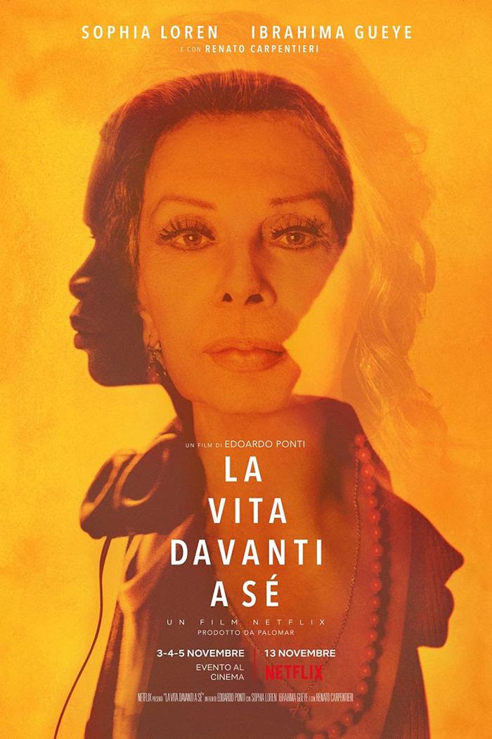 Oğlu yönetti, 86 yaşındaki Sophia Loren oynadı.