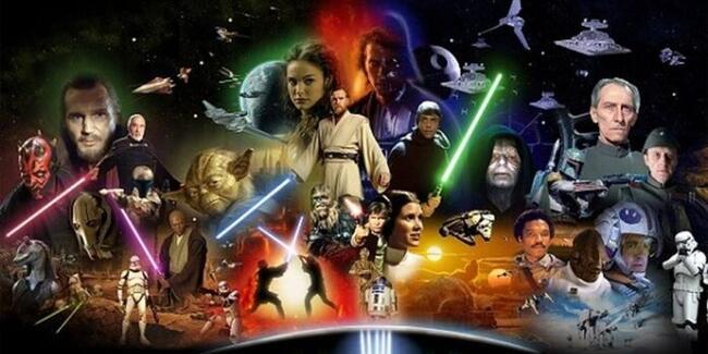 Star Wars evreninin en kötü karakteri Darth Vader oldu.