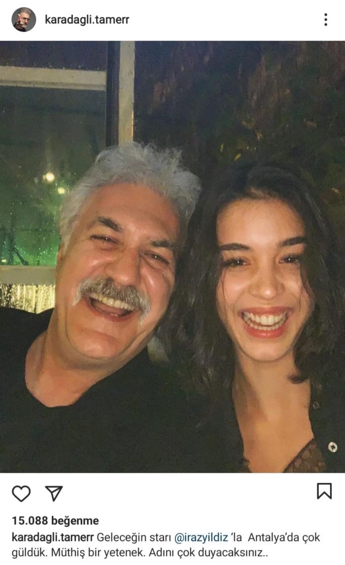 Tamer Karadağlı'nın 30 yaş küçük sevgilisini ''Çocuklar Duymasın''