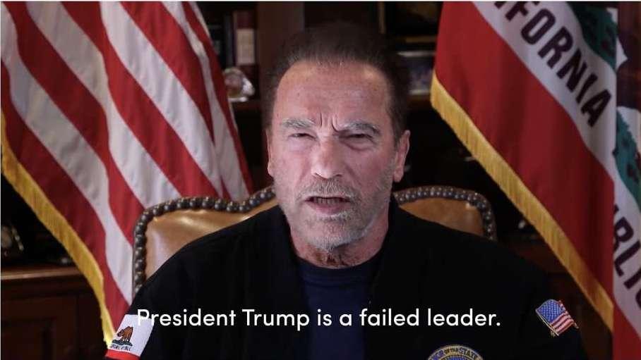 Arnold Schwarzenegger, ''Trump, en kötü başkan olarak tarihe geçecek'' dedi