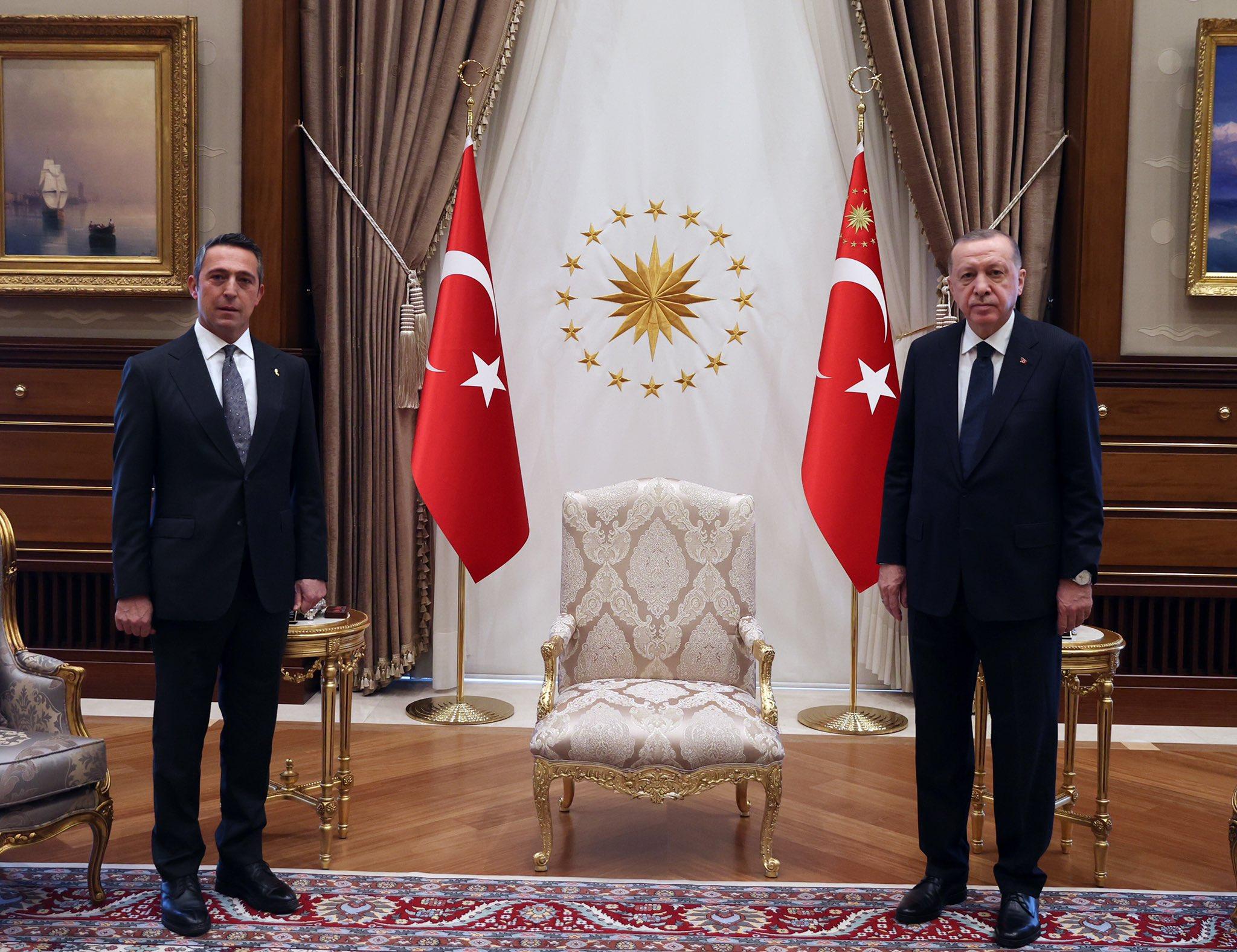 Ali Koç, Cumhurbaşkanı Erdoğan ile Beştepe'de görüştü.