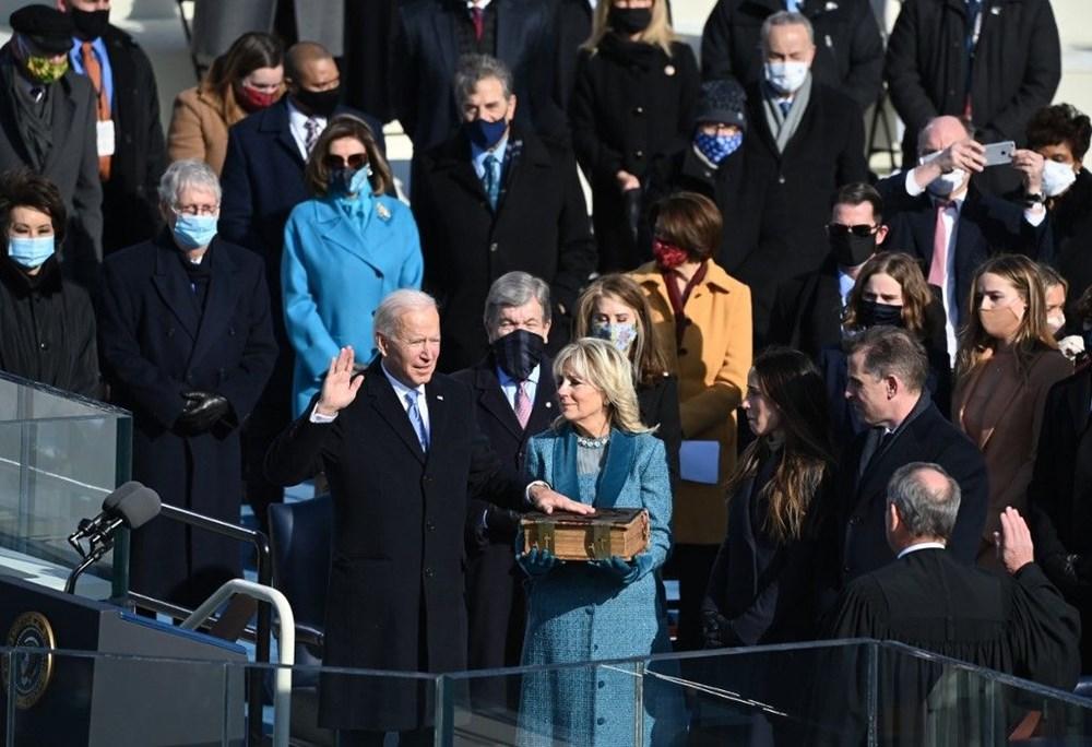 Joe Biden yemin töreniyle ABD'nin 46. Başkanı oldu
