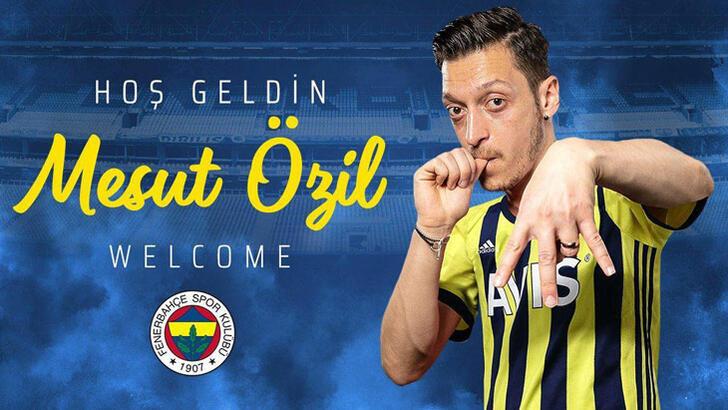 Mesut Özil Fenerbahçe'ye 3.5 yıllık imzayı attı