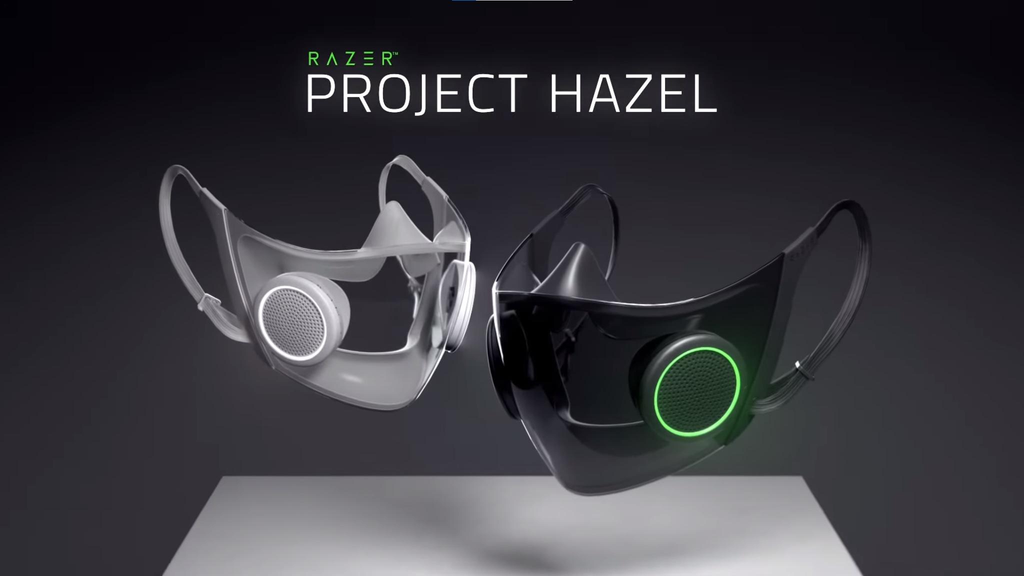 Razer'den akıllı yüz maskesi : Project Hazel