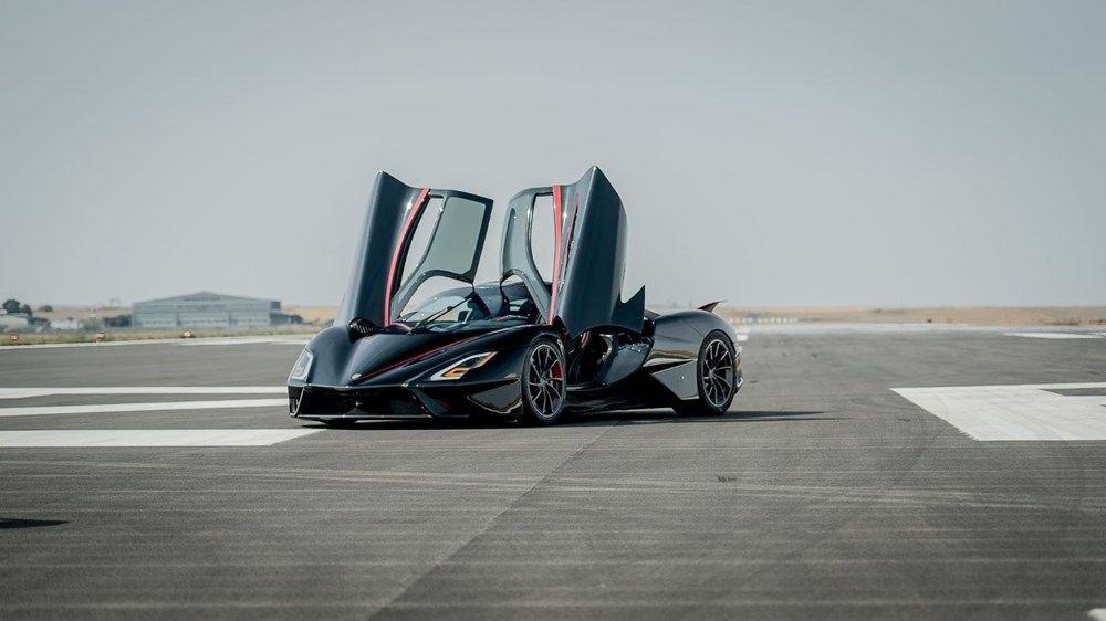 Seri üretimde olan SSC Tuatara, 'Dünyanın en hızlı otomobili'  oldu.
