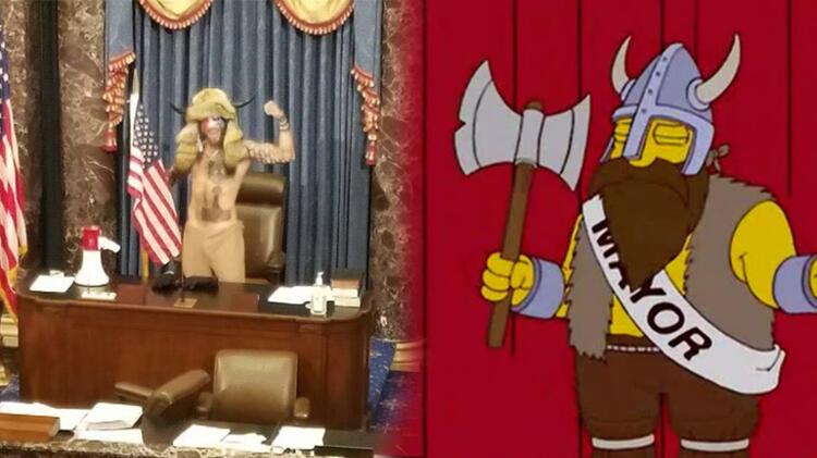Simpsonlar'ın kehaneti yine tuttu! Dünya hayrete düştü.