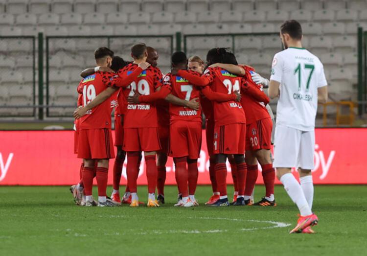 Beşiktaş, Türkiye Kupası'nda penaltılarla yarı finalde!