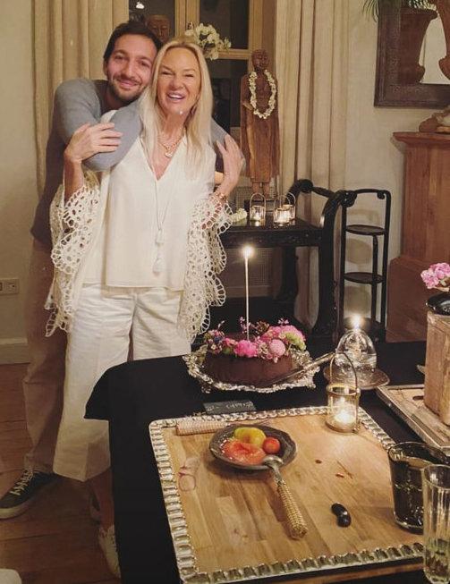 Bettina Machler'e sürpriz doğum günü kutlaması...