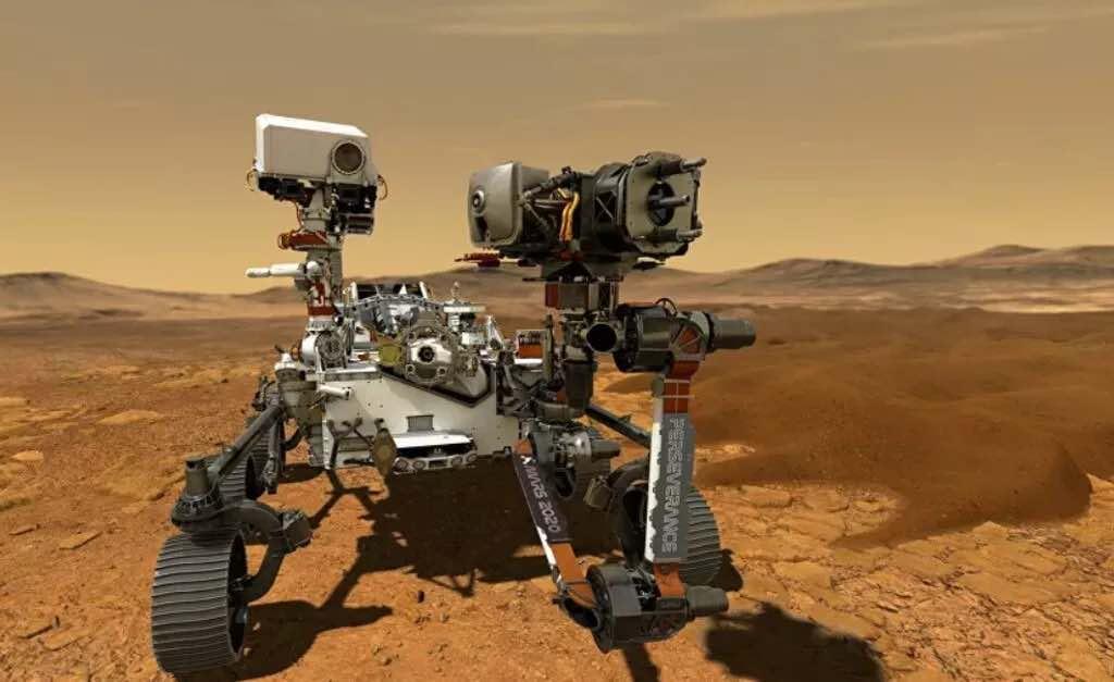 Perseverance, Kızıl Gezegen Mars'a indi