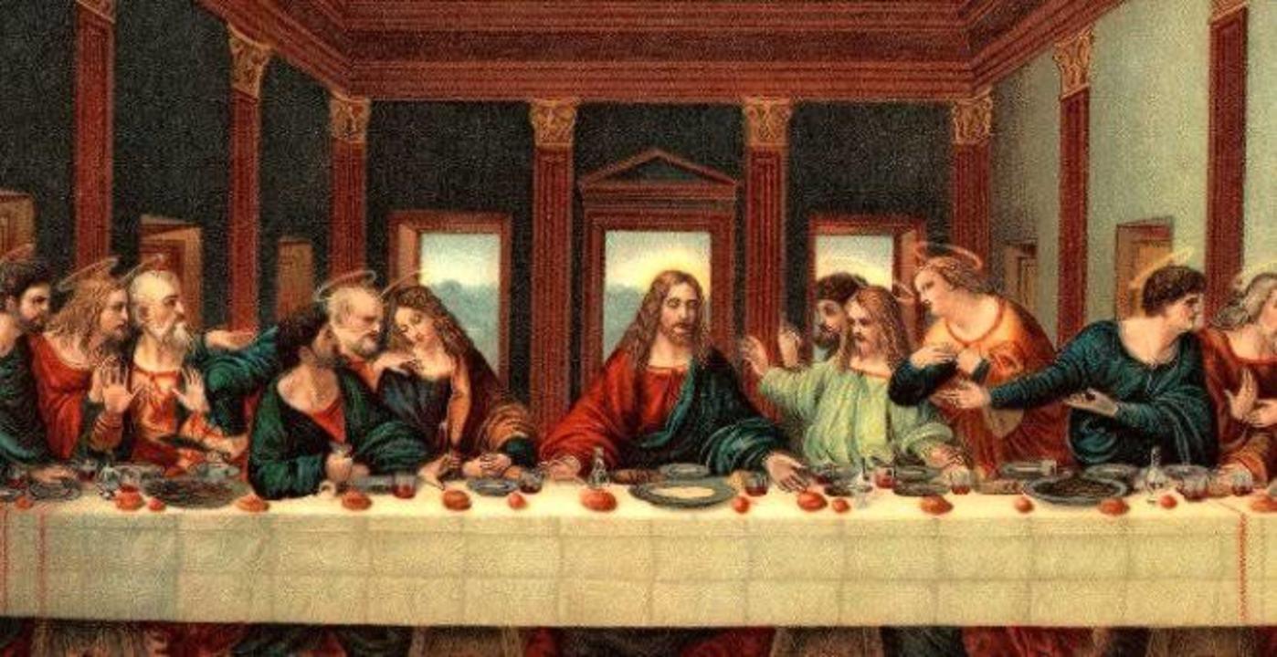 'Son Akşam Yemeği'ne 12 kişi ziyaretçi