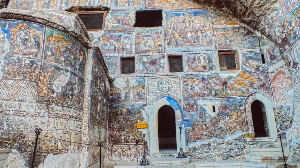 Sümela Manastırı'nda hedef UNESCO Dünya Miras Listesi