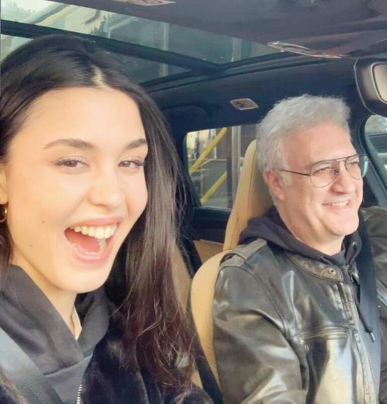 Tamer Karadağlı ve sevgilisi Iraz Yıldız'dan aşkın fotoğrafı