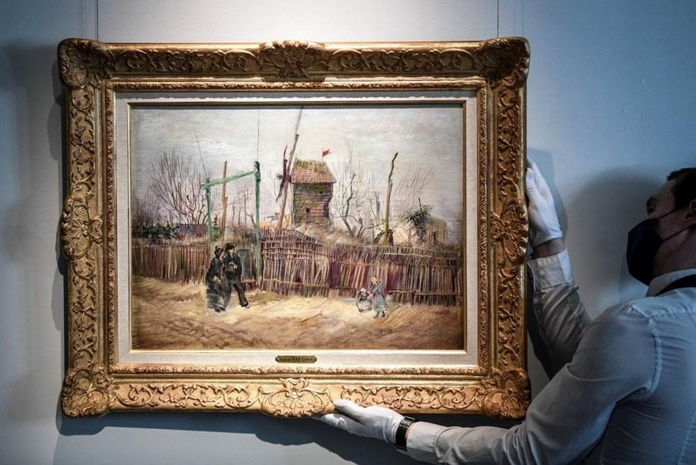 Van Gogh'un Montmartre eseri 100 yıl sonra ilk defa görüntülendi