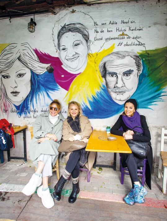 Rotahane ekibi İstanbul sokaklarında Fener ve Balat turuna çıktı.