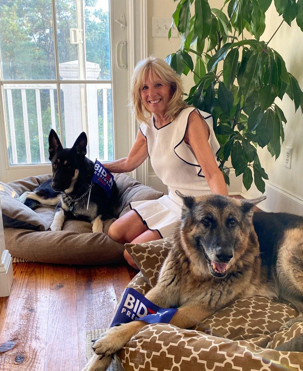 Joe Biden'ın eğitime gönderilen köpekleri Beyaz Saray'a geri döndü
