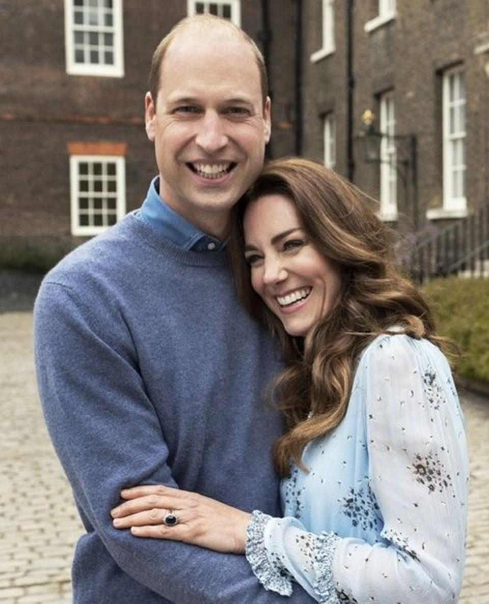 Prince William ve Kate Middleton'dan 10 yıla özel pozlar