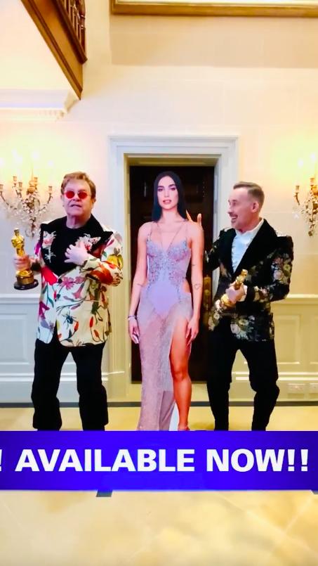Elton John'un dijital Oscar Töreni partisine 20 Dolar'a herkes davetli
