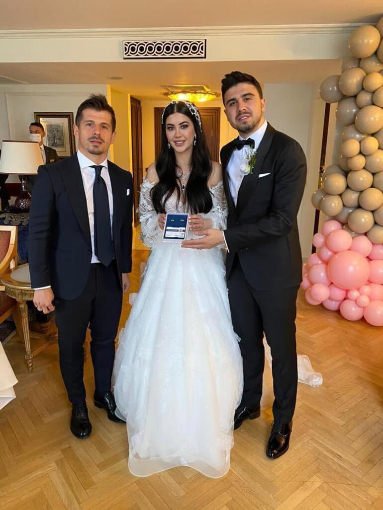 Ozan Tufan ve Rojin Haspolat Çırağan Sarayı'nda evlendi