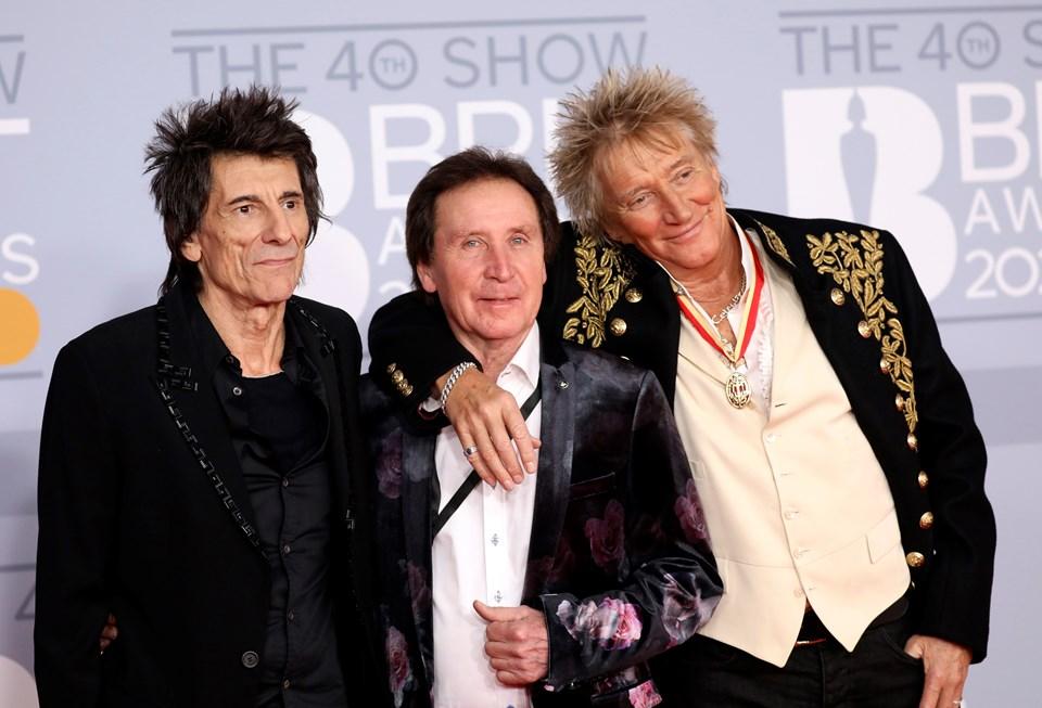 Rolling Stones'un gitaristi Ronnie Wood kinci kez kanserle savaşıyor.