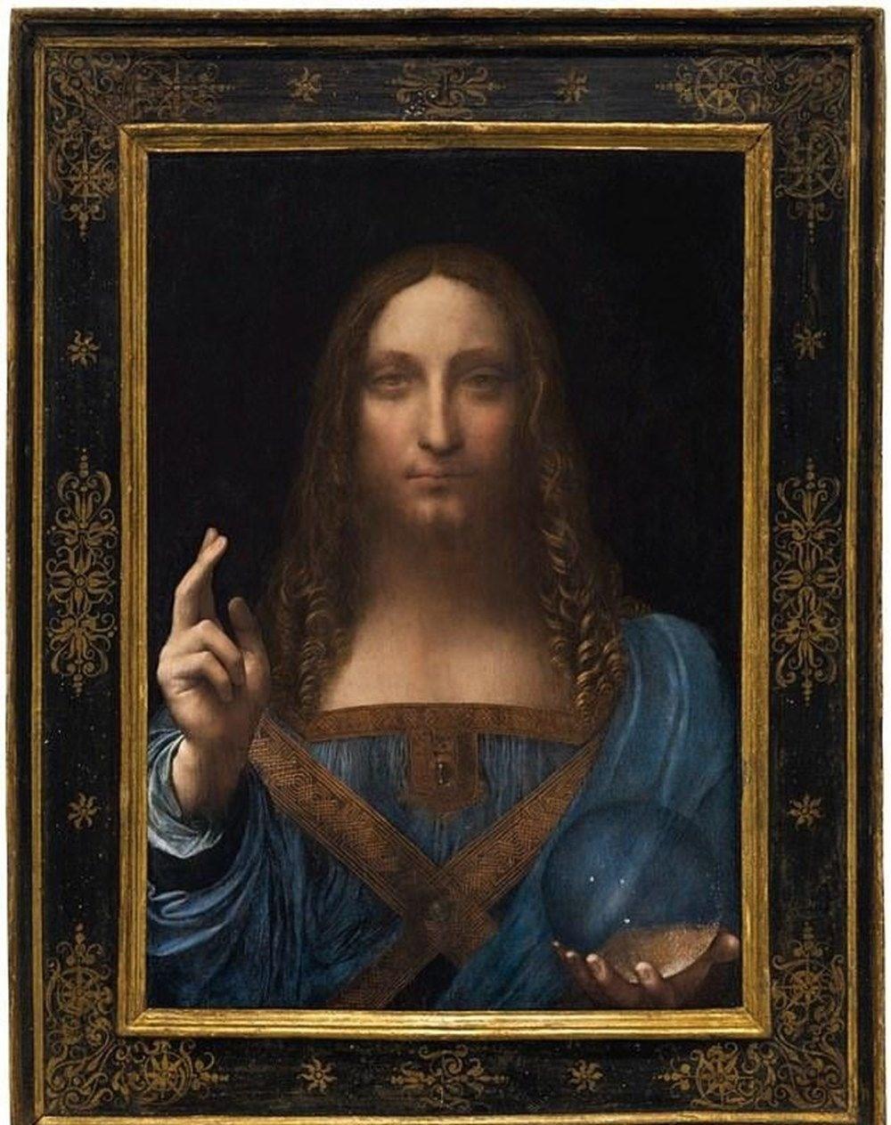 Leonardo da Vinci'nin Salvator Mundi'si NFT oldu. 450 milyon dolara satışta