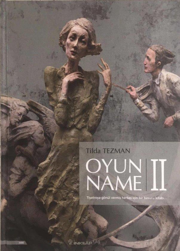 Tilda Tezman'dan yeni kitap: 'Oyunname II'
