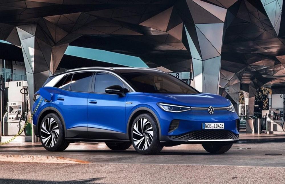 '2021 Dünyada Yılın Otomobili' Volkswagen ID.4 seçildi.