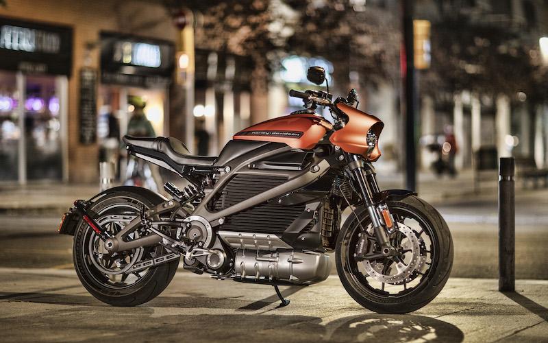 Harley-Davidson'dan elektrikli motosiklet markası 'LiveWire'