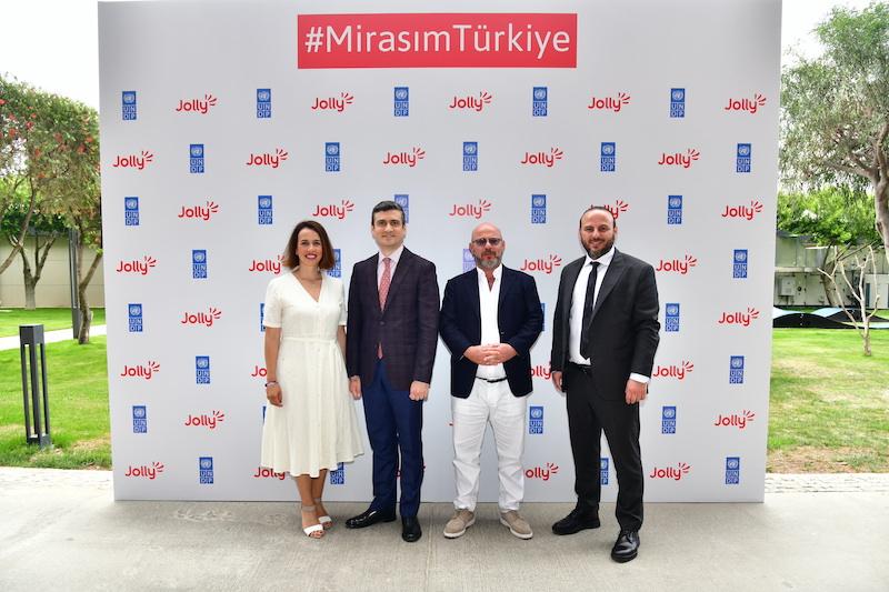 """Jolly ve UNDP Türkiye sürdürülebilir turizm için """"Mirasım Türkiye"""" dedi"""
