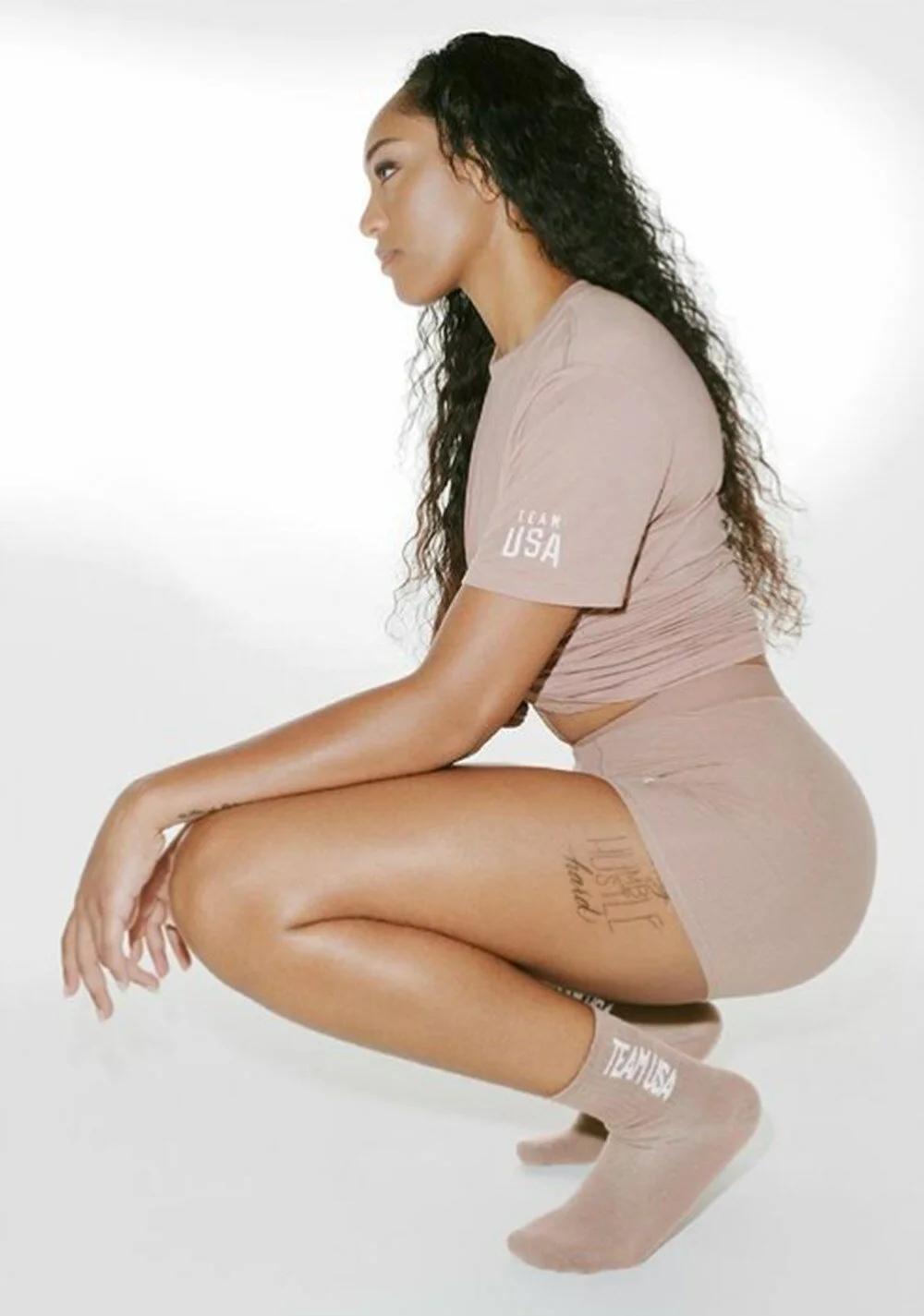 Kim Kardashian, Amerikalı sporcuların Tokyo Olimpiyatları'ndaki kıyafetlerini tasarladı