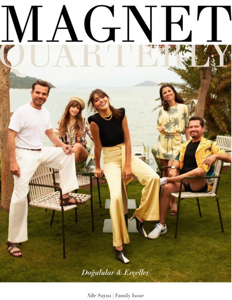 Doğulular ve Erçeller, Magnet Quarterly için poz verdi.