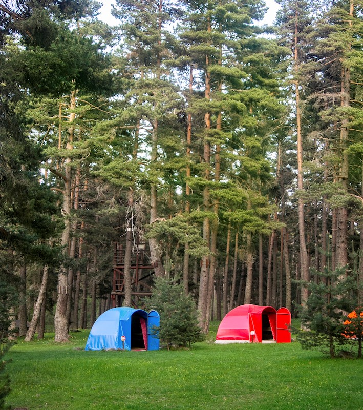 Çadır kampı ve karavan tatillerinin adresi Bolu Aladağlar'daki MounTRrain.
