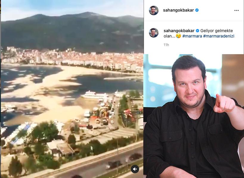 Şahan Gökbakar, Instagram'a musilaj ile ilgili mesajla döndü.