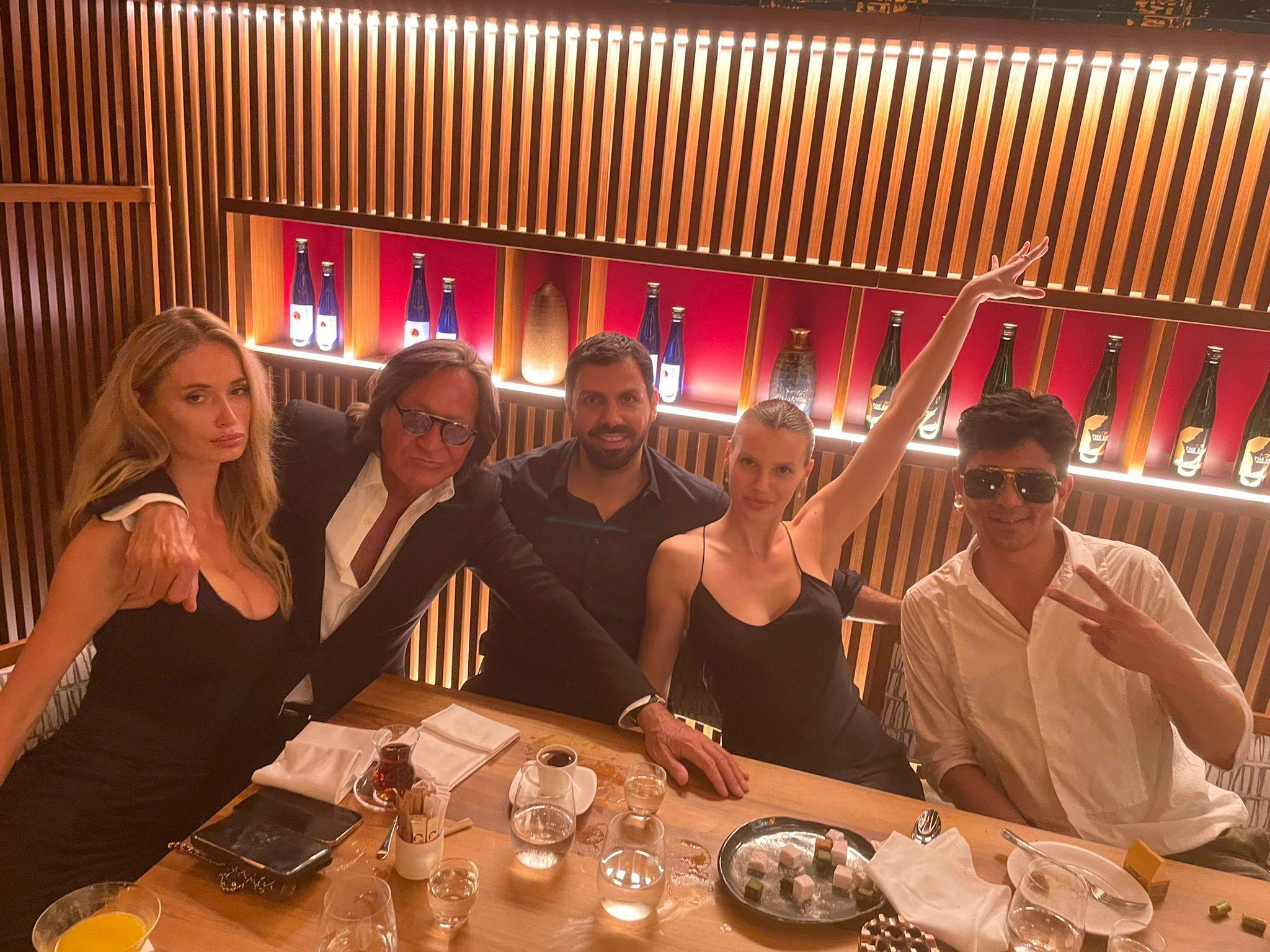 Dünyaca ünlü isimler Candice Swanepoel ve Mohamed Hadid, Nobu İstanbul için geldi