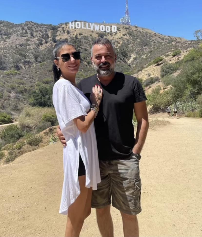 Süreyya Yalçın ve Ozan Baran Hollywood'da...