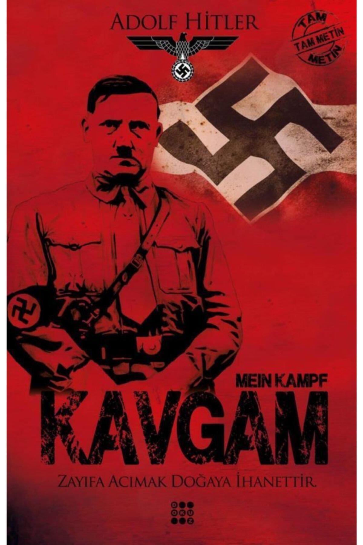"""Adolf Hitler'in kaleme aldığı """"Kavgam"""" Fransa'nın en çok satanı oldu."""