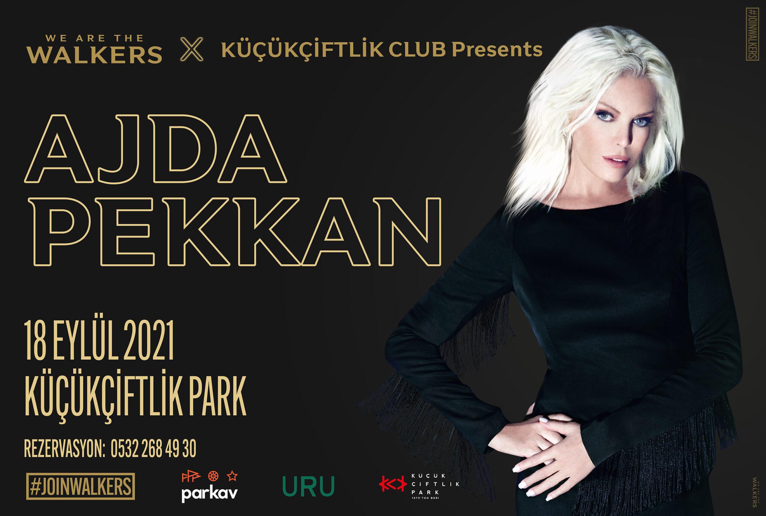 Süperstar Ajda Pekkan ilk kez KüçükÇiftlik Park Sahnesi'nde!