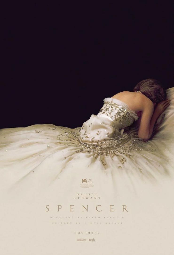 Kristen Stewart'ın oynadığı Prenses Diana filmi Spencer'ın ilk afişi yayınlandı