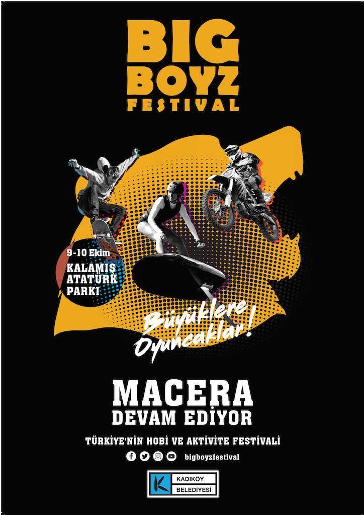 Big Boyz Festival ile heyecan ve adrenalini yine dorukta yaşatacak!