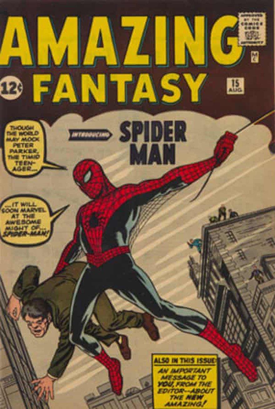 Örümcek Adam'ın ilk sayısı açık artırmada rekor fiyata satıldı.