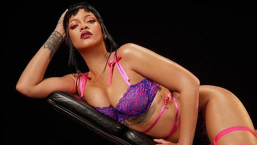 Rihanna yeni iç çamaşırı koleksiyonunu tanıttı