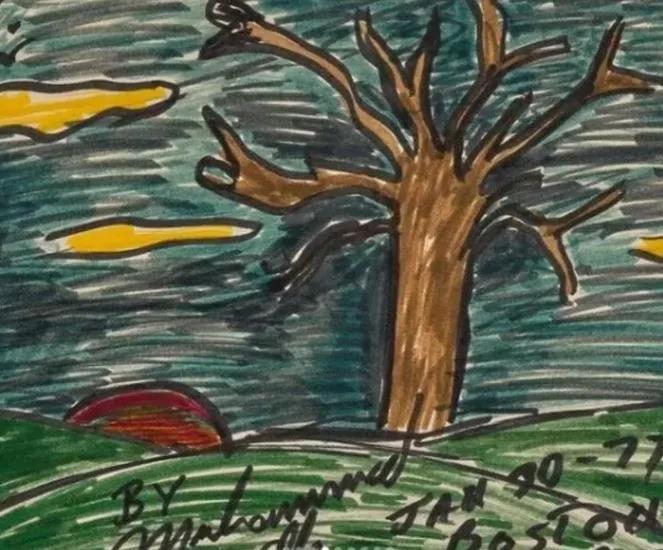 Muhammed Ali'nin çizdiği resimler 1 milyon dolara satıldı